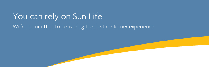 You can rely on Sun Life
